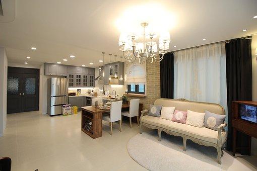 Living Room, Lighting, Furniture, Home, Lamp