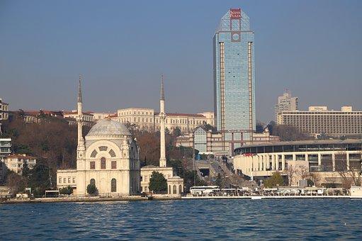 Dolmabahçe, Marine, Istanbul, Turkey, Landscape