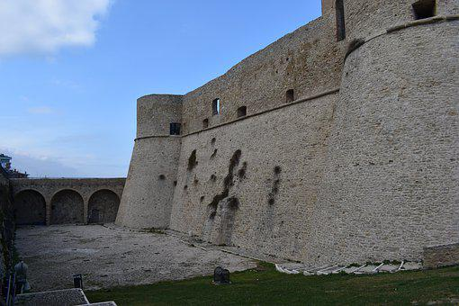 Castle, Walls, Middle Ages, Old, Architecture