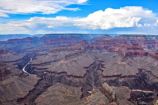 Grand Canyon, America, Usa, Nature, National Park