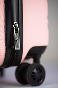 Suitcase, Pink Holiday, Travel, Lock, Luggage, Holiday
