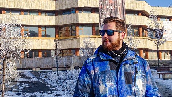 Portrait, Winter, Facial, Cold, Person