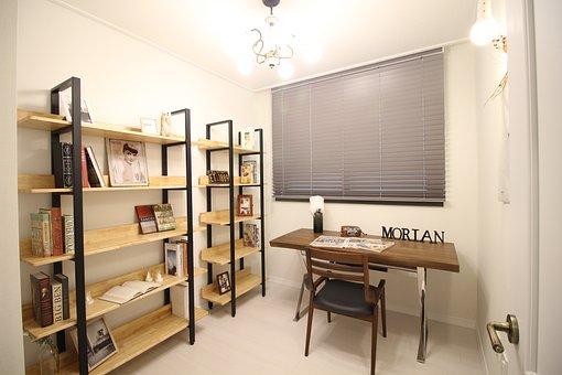 Room, Bookcase, Book, Graffiti, Internal, Research