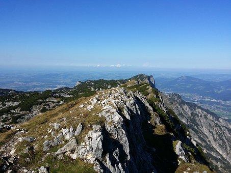 Mountains, Summit, Unterberg, Rock, Bavaria, Scenic
