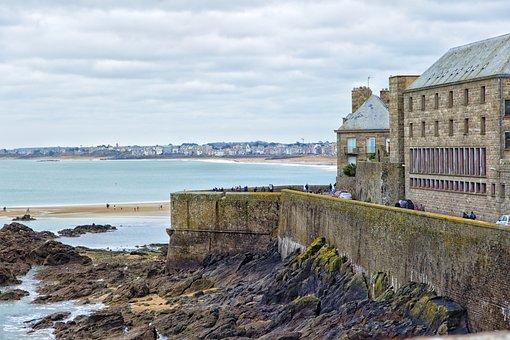 Saint Malo, Sea, Brittany, France