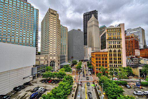 Pittsburgh, Skyline, City, Pennsylvania