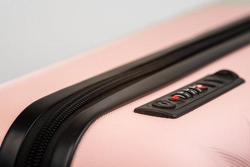 Suitcase, Pink Holiday, Travel, Lock, Luggage, Holiday