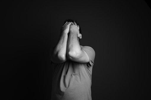 Depression, Anxiety, Sadness, Upset, Expression