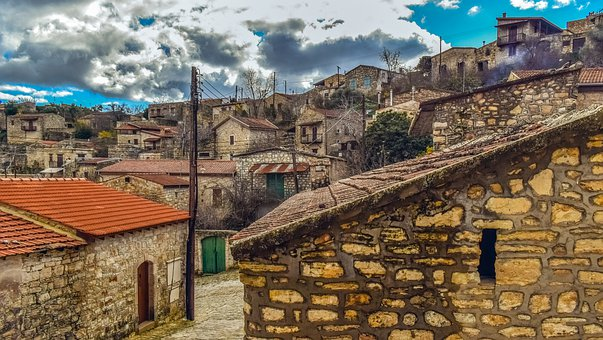 Houses, Stone, Village, Architecture, Old, Traditional