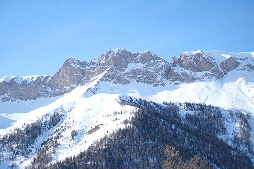 Snowman, Snow, Ski, Cold, Winter, Alps, Mountain
