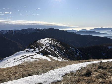 Panorama From Covreto, Alpine Route, Alps, Alpine