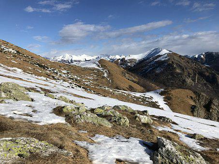View From Mount Target, Alpine Route, Alps, Alpine