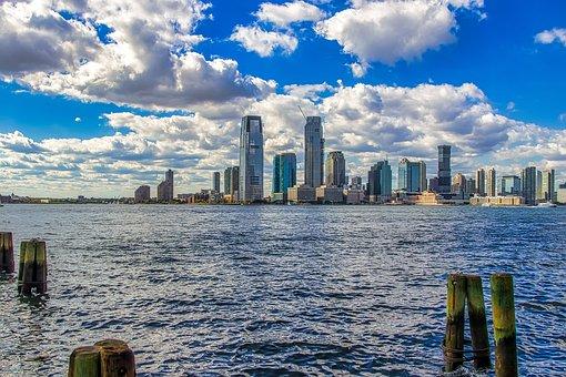 New York, View, Panorama, Manhattan, Architecture, City