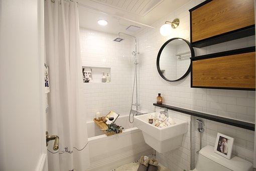 Toilet, Bathroom, Bath, Tub, Home, Clean, Bath Shower