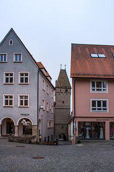 Tower, City Tower, Building, Architecture, Metzgerturm