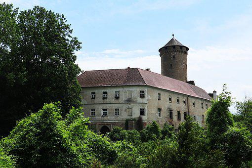 Castle Wildenhof, Fortress, Middle Ages, Building