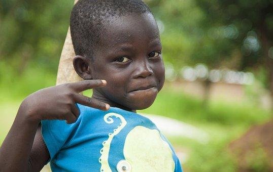 Child, Village, Africa, Boy, People, Conakry