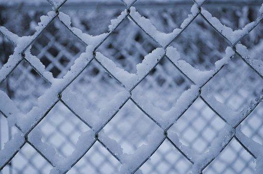 Snow, Fence, Winter, Farm, December, Gate, Wintry