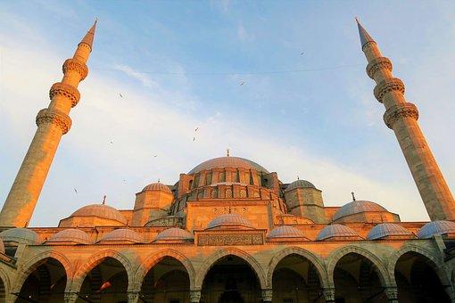 Cami, The Minarets, Dome, Architecture