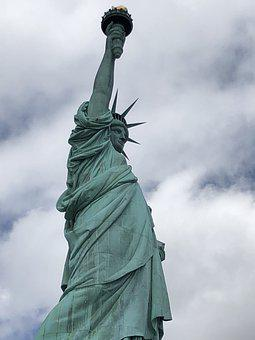 Liberty, Freedom, America, Usa, Immigration, Symbol