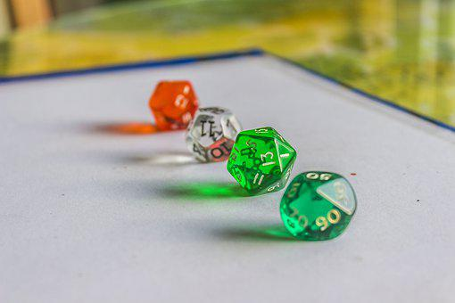 Dice, Board, Game, Chance, Entertainment, Luck, Fun