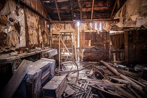 Ghost Town, Workshop, Carpenter, Wood Workshop, Tool