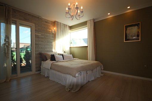 Bedroom, Lighting, Room, Bed, Home, Internal, Furniture