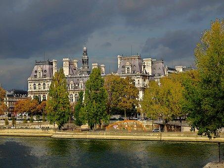 Hotel De Ville Of Paris, France
