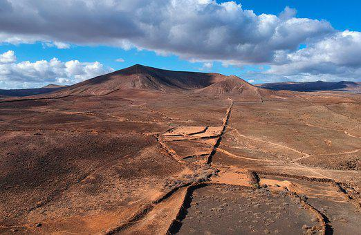 Lanzarote, Mountains, Landscape, Mountain, Nature, Lava