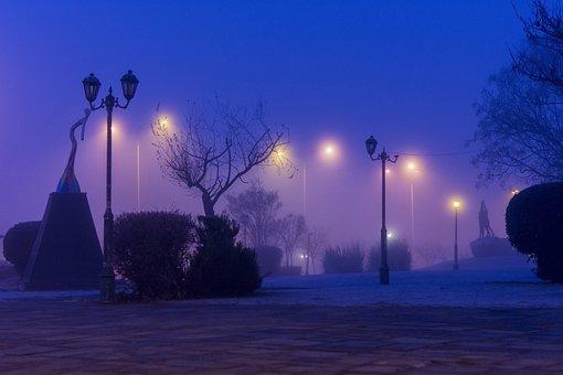 Fog, Mist, Magic, Mood, Landscape, Trees, Nature, Path