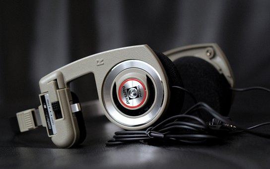 Professional, Audio, Headphones, Monitor, Recording