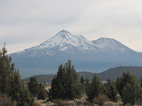 California, Mt Shasta, Mountain
