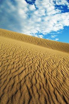 Dunes, Sand, Desert, Landscape, Nature, Dry, Africa
