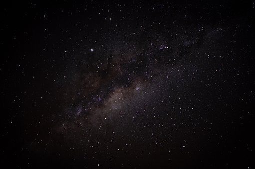 Milky Way, Starry Sky, Star, Galaxies, Night Sky
