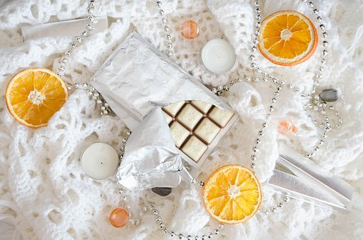 Chocolate, Oranges, Candy, Dessert, Nutrition