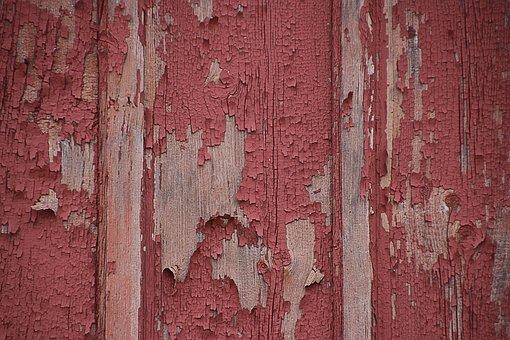 Texture, Wood, Panel, Barn, Paint, Peeling, Grunge