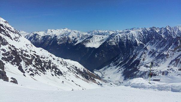 Pyrenees, Snow, Mountain, Nevado, Mountains, Mount