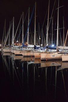 Sailing Boat, Symmetrical, Reflection, Travel, Water