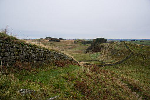 Hadrian's Wall, Roman, Wall, Architecture, Historically