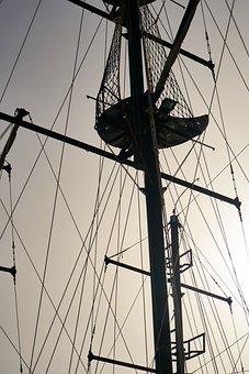 Sailboat, Direct, Sky, Marine, Water, Ship, Sail, Boat