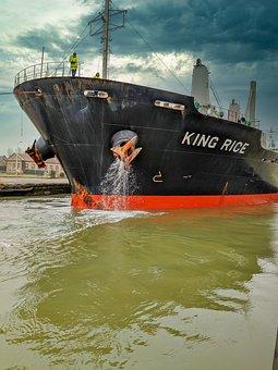 Cargo, Tug, Port, Transport, Maritime, Shipping