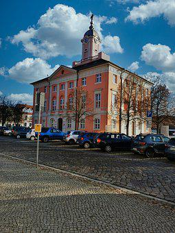 City, Market, Space, Town Hall, Historically, Center