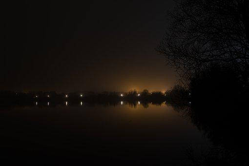 Mist, Sunrise, Riverbank, River Grass, Landscape, Haze