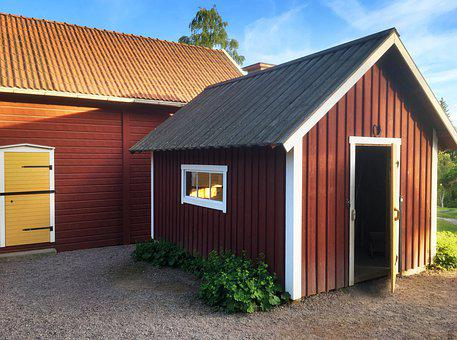 Sweden, Scale, Farm, Outside, Agriculture, Rural