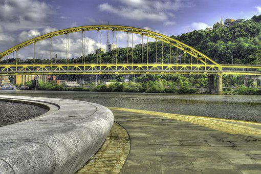 Fort Pitt Bridge, Pittsburgh, The Point, Rivers, Park