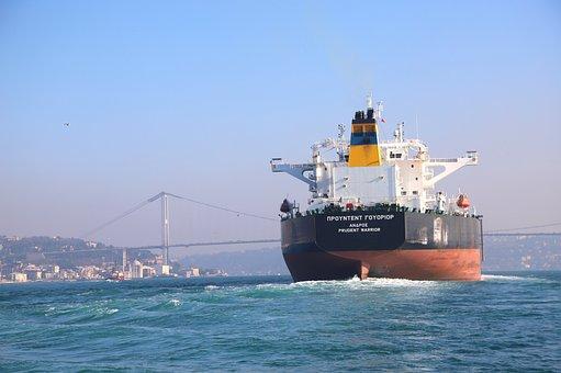 Istanbul, Throat, Ship, Bridge, Channel Istanbul