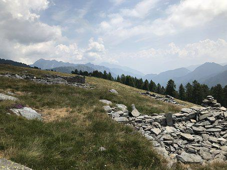 Towards The Pylon, Alpine Route, Alps, Alpine
