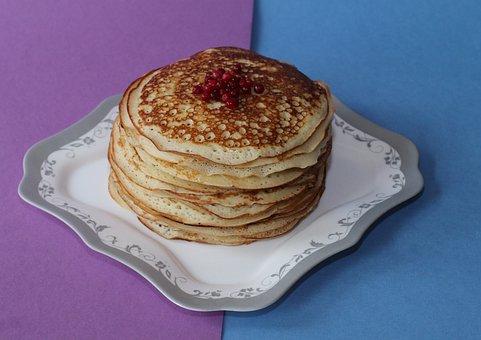Pancakes, Carnival, Food, Holiday, Traditions, Baking