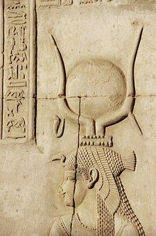 Egypt, Philae, Isis, Temple, Hieroglyphs, Antique
