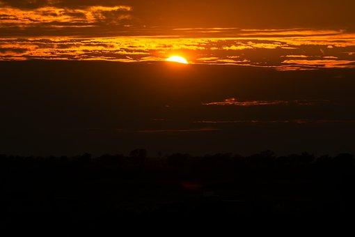 Sunset, Weather, Sky, Dusk, Atmosphere